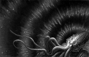 Los Mitos de Cthulhu (cover illustration)