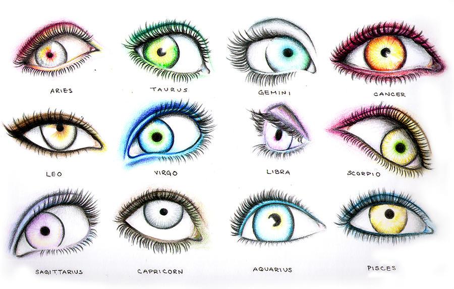 Zodiac Eyes by thecheapbouquet