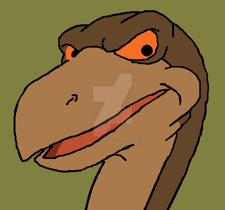 The Land Before Time: Ozzy by SuperMarioFan65