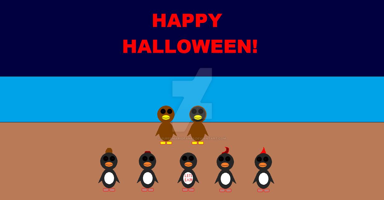 TFA, Montay and Cho Cho wishes U a Happy Halloween by SuperMarioFan65