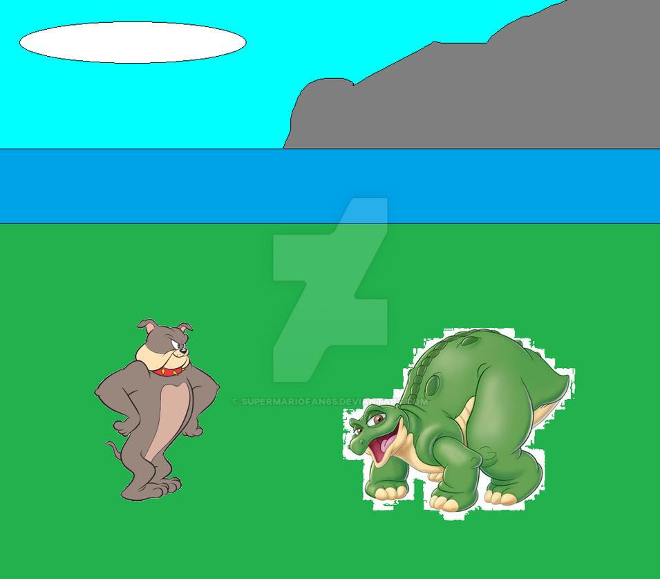 Spike Bulldog and Spike by SuperMarioFan65