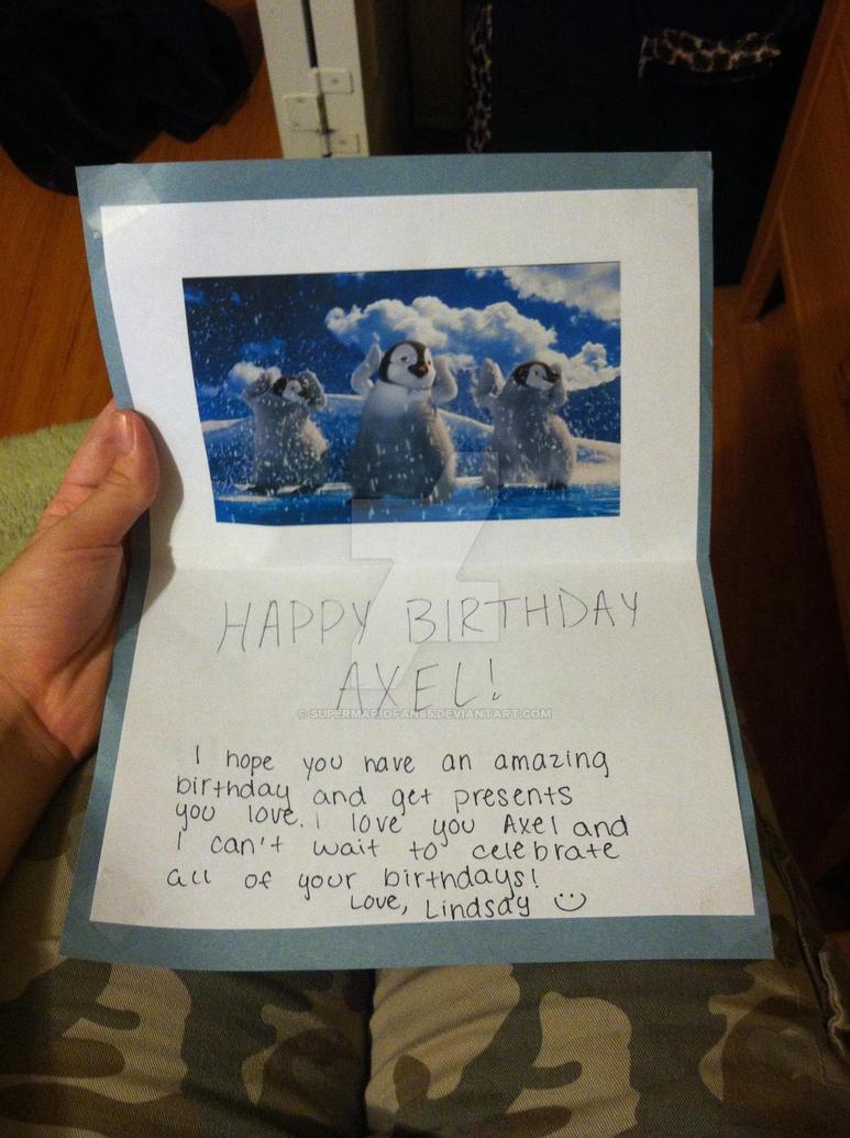 Happy Birthday Boadicea Sexyback Card by SuperMarioFan65