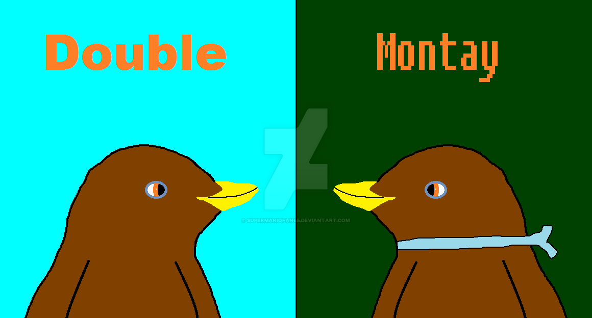 Double Montay Title by SuperMarioFan65
