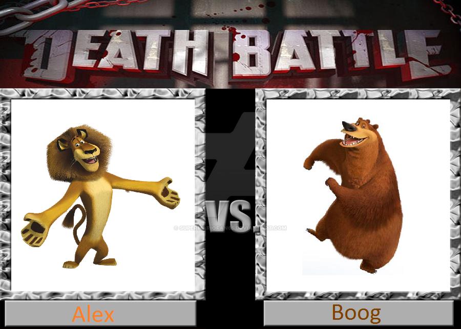 Death Battle: Alex vs Boog by SuperMarioFan65
