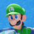 Mario Tennis Ultra Smash - Luigi Icon by SuperMarioFan65