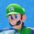 Mario Tennis Ultra Smash - Luigi Icon by SuperMarioFan65
