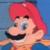 Super Mario World - Mario Smile Icon by SuperMarioFan65