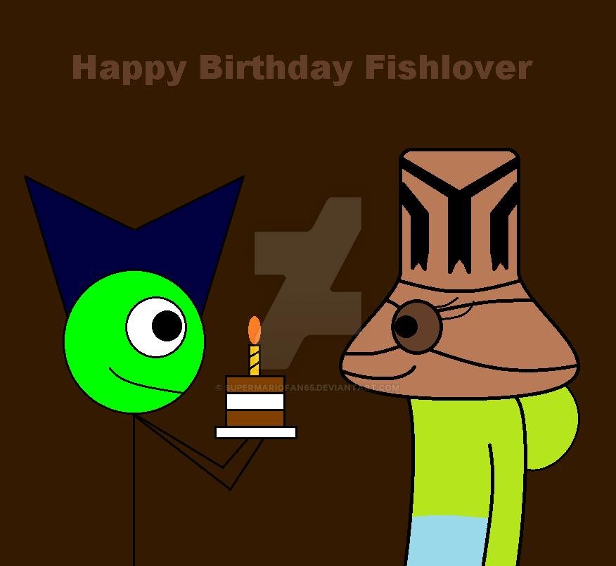 Happy Birthday Fishlover by SuperMarioFan65