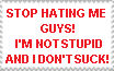 STOP HATING ME! by SuperMarioFan65