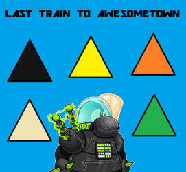 Club Penguin - Last Train to Awesometown