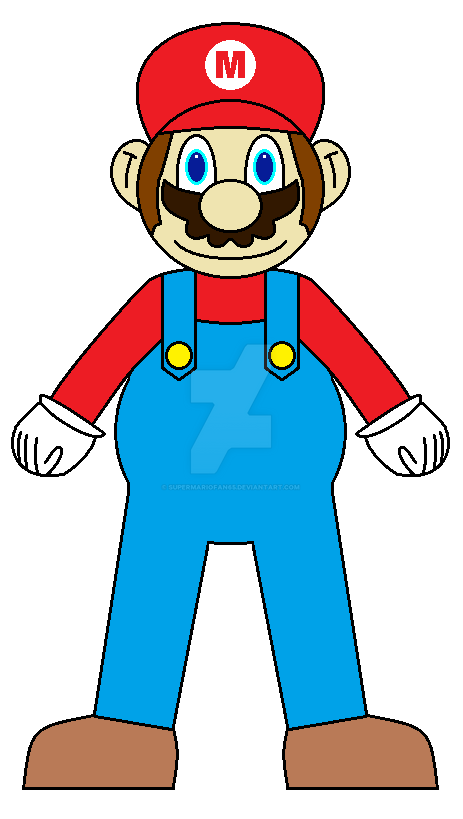 Mario by SuperMarioFan65