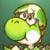 Yoshi Island DS - Baby Yoshi Icon