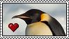 Emperor Penguin Stamp by SuperMarioFan65