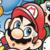 Super Mario Bros Deluxe - Mario Icon by SuperMarioFan65