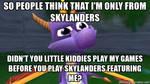 Spyro Originally Not From Skylanders