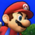 Super Smash Bros 3DS - Mario Icon