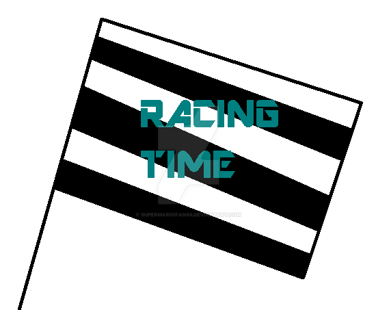 Racing Time title by SuperMarioFan65