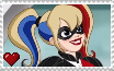 DC Super Hero Girls - Harley Quinn Stamp by SuperMarioFan65