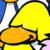Club Penguin - Hug Yellow Penguin Icon by SuperMarioFan65
