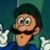 The SMB Super Show - Luigi with Cartoony Eyes Icon
