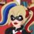DC Super Hero Girls - Harley Quinn Icon 3 by SuperMarioFan65