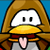 Club Penguin - Taunting Brown Penguin Icon by SuperMarioFan65