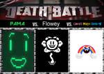 Death Battle - PAMA vs Flowey vs Magic Rainbow
