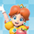 Mario Party Star Rush - Princess Daisy Icon