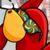 Club Penguin - 3D Rainbow Glasses Red Penguin Icon by SuperMarioFan65