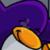 Club Penguin - Dance Purple Penguin Icon by SuperMarioFan65
