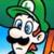 Super Mario World - Luigi Artwork Icon by SuperMarioFan65