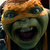 TMNT Out of the Shadows - Michelangelo scream Icon