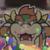 Paper Mario Color Splash - Bowser Icon