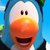 Club Penguin Island - Whoa Blue Penguin Icon
