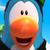 Club Penguin Island - Whoa Blue Penguin Icon