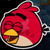 Angry Birds Friends - Happy Red Icon