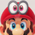 Super Mario Odyssey - Mario with Eye Hat Icon by SuperMarioFan65