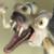 Ice Age - Scrat Scream Icon