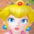 Mario Superstar Baseball - Peach Icon