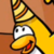 Club Penguin - Party Yellow Penguin Icon