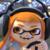 Mario Kart 8 Deluxe - Inkling Girl Icon
