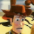 Toy Story - Woody on bed Icon