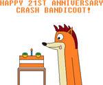 Crash Bandicoot's 21st Anniversary