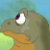 The Land Before Time TV Series Nervous Spike Icon