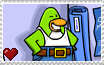 Club Penguin - Smile Penguin Stamp by SuperMarioFan65