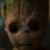 Guardians of the Galaxy Vol. 2 - Sad Groot Icon by SuperMarioFan65