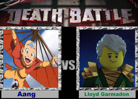Death Battle - Aang vs Lloyd Garmadon