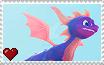 Spyro Reignited Trilogy - Spyro Stamp by SuperMarioFan65