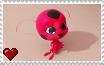 Miraculous Ladybug - Tikki Stamp by SuperMarioFan65