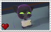 Miraculous Ladybug - Plagg Stamp by SuperMarioFan65